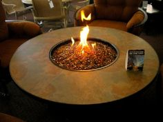 Santorini Fire Table