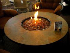 Santorini Fire Table