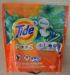 Tide Pods with Febreze (10 pacs) Botanical Rain Fragrance #TidePods #XOVoxBox