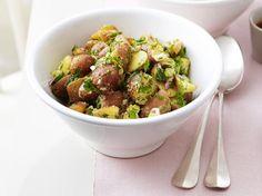 Aardappelsalade met verse kruiden