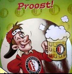 Feyenoord proost Rotterdam, Bowser, Snoopy, Football, Birthday, Land, Fictional Characters, Club, Sports