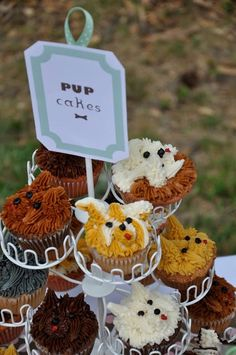 As a local baker to sell cute dog themed cupcakes with a portion of the sales going to your rescue.
