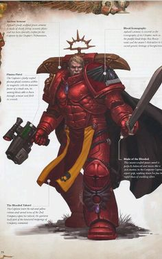 Blood Angels 2nd Company - the blooded- company master