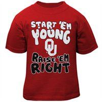Oklahoma Sooners Infant Start 'Em Young T-Shirt