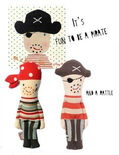 Ahoy little pirates! http://knuffelsalacarteblog.blogspot.nl/
