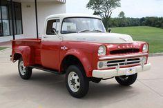 "1957 DODGE ""GIANT"" POWER WAGON W100 1/2 Ton Rare Factory 4X4 (1 of ..."