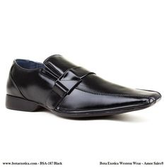 Zapatos negros Superman para hombre 178uzl