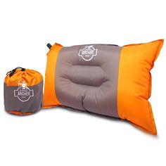 Archer Compressible Self Inflating Camping Pillow 20' X 12' ** You can get additional details at the image link.
