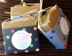Brown Sugar & Vanilla Soap Bar/Handmade Soap - pinned by pin4etsy.com