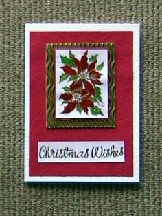 Christmas - Holy Christmas Wishes - Handmade Craft Cards Making Ideas Gallery