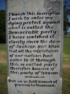 This Civil War Vet's 124 Year-Old Grave Warning Perfectly Predicted Obama's Presidency Read more at http://www.westernjournalism.com/like-ghost-politics-past-civil-war-vet-issues-grave-warning-obamas-america/#qYYxvbRYawcybJlq.99
