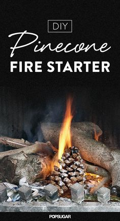 There's nothing more relaxing than cozying up to a flickering fire after a long day. Make things easier with the help of a fresh-smelling fire starter that pops under your logs or backyard fire pit