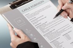 Check out Elegant Resume Template for Word by Inkpower on Creative Market