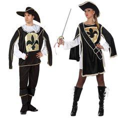 Costumes pour couples Mousquetaires #déguisementscouples