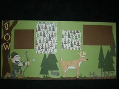 hunting scrapbooking page I created by Stephanie Johnson