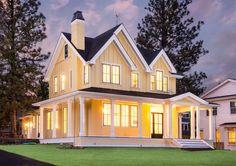 Modern Farmhouse House Plan - Bend, Oregon