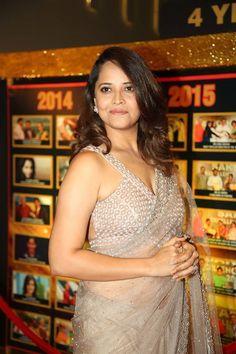 Indian TV Actress Anasuya At Sakshi Excellence Awards - Tollywood Stars TV actress Photographs TV ACTRESS PHOTOGRAPHS | IN.PINTEREST.COM #ENTERTAINMENT #EDUCRATSWEB