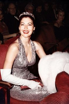 20 vintage photos from Old Hollywood's Oscars, Golden Globes and more awards shows: Ava Gardner at the 1960 Academy Awards