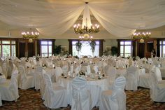 Banquet room at Blue Springs