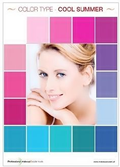 These are my colors!  I am a summer.  I try to build a lot of my wardrobe in the summer because of the available colors.