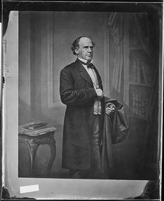 Hon. Salmon P. Chase, Chief Justice, U.S. by The U.S. National Archives, via Flickr