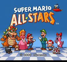Super Mario All-Stars - Super Nintendo