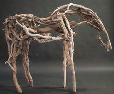 Deborah Butterfield<br> Delight, 2002<br> bronze<br> 39 x 49 x 14 in. (99 x 124.5 x 35.6 cm)<br> Private collection Marina Del Rey, CA