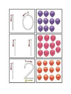 Baúl de Logopedia y Atención Temprana: Los Números: material de Picasa