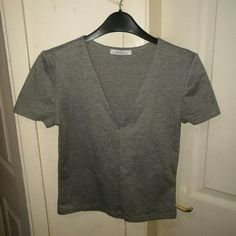 cf4d55528f0 Depop - The creative community s mobile marketplace. Grey TopZara