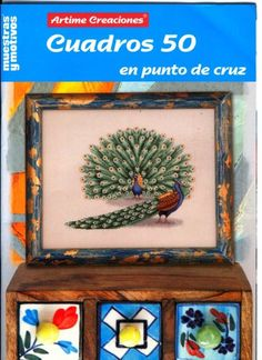 Gallery.ru / Фото #62 - Cuadros 50 - tymannost Cross Stitch Magazines, Cross Stitch Books, Cross Stitch Animals, Plastic Canvas, Decorative Boxes, Pattern, Crafts, Painting, Gallery