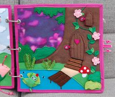 Fairy Quiet Book - Magic forest! PATTERN + TUTORIAL