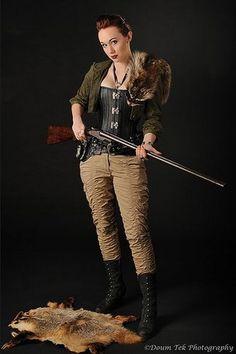 Girls And Guns - Girl With Gun http://girls-andguns.blogspot.com/