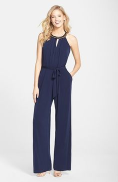 5faf7b8471b9 Vince Camuto Hardware Detail Jersey Jumpsuit available at  Nordstrom Shower  Outfits