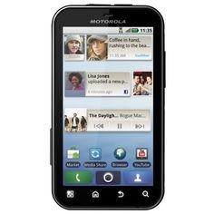 Motorola Defy with Motoblur Sim Free Android Smartphone – Black/White