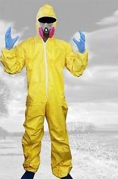 #Breaking bad halloween cosplay costume walter #white #outfit hazmat suit gas mas,  View more on the LINK: 	http://www.zeppy.io/product/gb/2/181596824930/