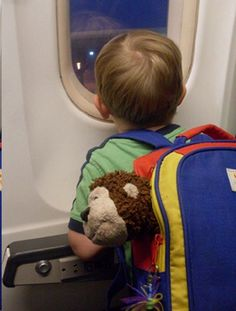 Tips for Traveling with Babies and Toddlers -   I must remember this when/if I travel with the boys someday.