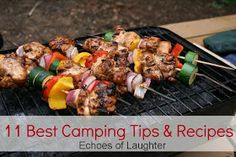 Echoes of Laughter: 11 Best Camping Tips & Recipes...