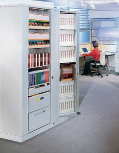 Rotary Book And Binder Storage For Office Filing Supplies Shelves Or Drawers Equipment Can Be D Securely In A Cabinet Which Offers