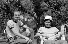 Sandro Mazzola et Giancarlo De Sisti (Italie) 1970