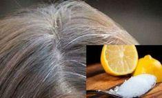 Grijs haar is verleden tijd als je deze 2 ingrediënten in je haar masseert!