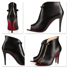 Christian louboutin 'Coursive' booties! So chic & sophisticated!!!!