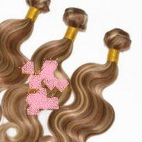 3 BUNDLES OF 27/613 PERUVIAN VIRGIN HAIR 16 INCHES. 100 GRAMS EACH BUNDLE 100% VIRGIN HAIR. **ALL SALES FINAL**