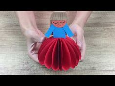 DIY Crafts - How to make Paper DOLL lovely and cute DIY for kids - YouTube