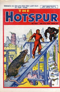 The Hotspur #655 - Comic Book Cover