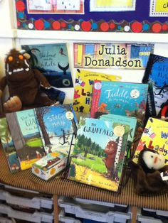 Julia Donaldson Display