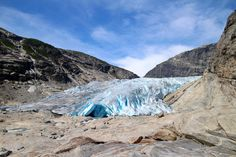 Norway with Kids: Nigardsbreen Glacier | Suitcases & Strollers | Travelling with Kids