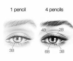 Amazing Learn To Draw Eyes Ideas. Astounding Learn To Draw Eyes Ideas. Pencil Drawing Tutorials, Pencil Art Drawings, Art Drawings Sketches, Drawing Tips, Art Tutorials, Eye Drawings, Drawing Ideas, Learn Drawing, Pencil Sketching