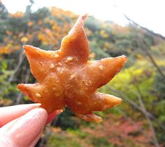 Fried Maple Leaves Are A Thing People Eat In Japan During Autumn