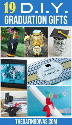 Graduation Ideas for All Ages - From The Dating Divas Cheap Graduation Gifts, Graduation Card Boxes, Graduation Crafts, High School Graduation Gifts, College Student Gifts, Grad Gifts, Diy Gifts, Graduation Ideas