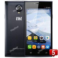 "THL T6C 5\"" IPS MTK6580 Quad-core Android 5.1 3G Phone 8MP CAM 1GB RAM 8GB ROM Google Play Store P05-T6C"